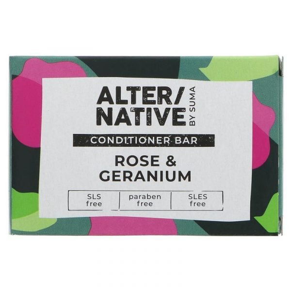 Alter native Conditioner Bar Rose & Geranium 95g