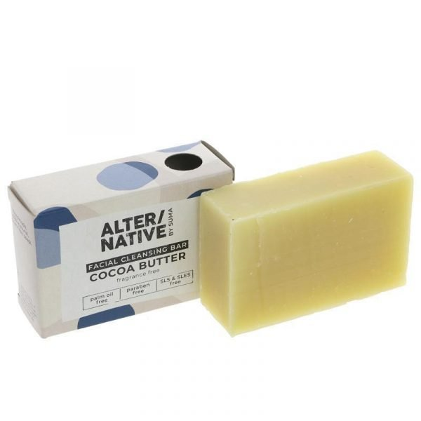 Alter/native Facial Cleaning Soap Bar Cocoa Butter 95g