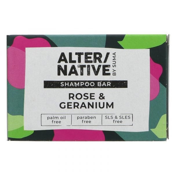 Alter/native Shampoo Bar Rose & Geranium 95g