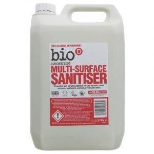 Bio-D MultiSurface Sanitiser 5 Litre