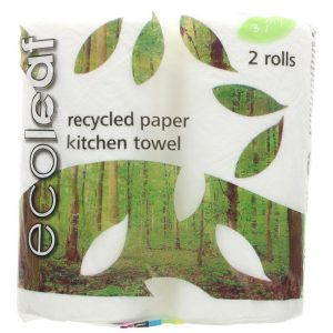 Ecoleaf Kitchen Roll 2 Pack