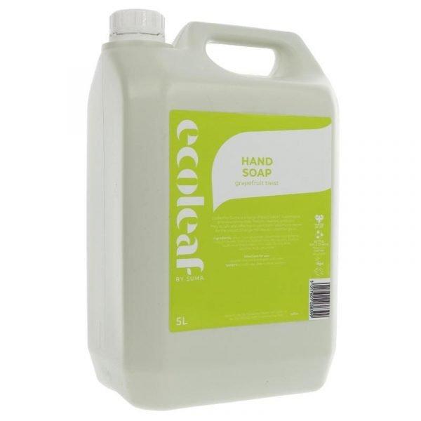 Ecoleaf Liquid Hand Soap (hand wash) Grapefruit 5 Litre
