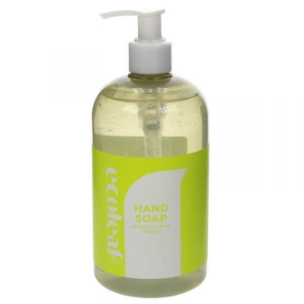 Ecoleaf Liquid Hand Soap (hand wash) Grapefruit with pump 250ml