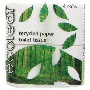 Ecoleaf Toilet Roll 4 Pack