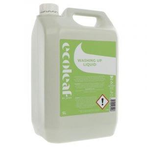 Ecoleaf Washing Up Liquid 5 Litre