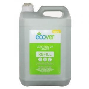 Ecoover Washing Up Liquid 5 Litre Lemon & Aloe Vera