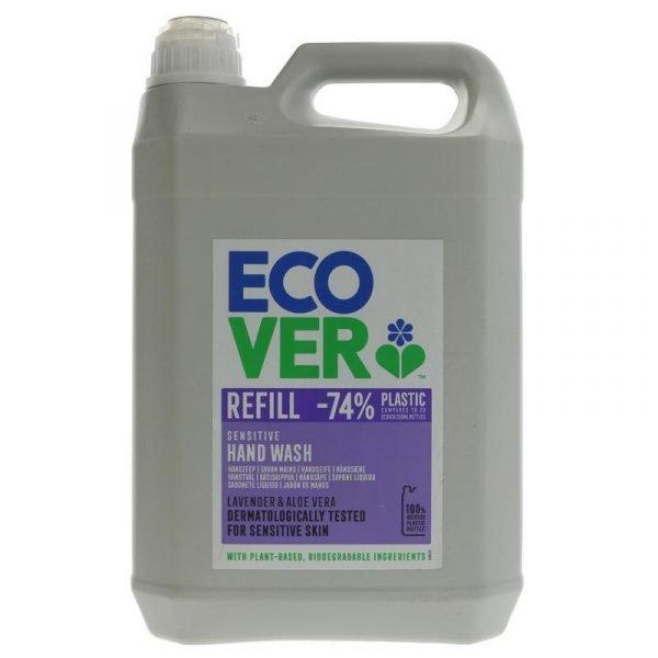 Ecover Hand Soap 5 litre - Lavender & Aloe Vera