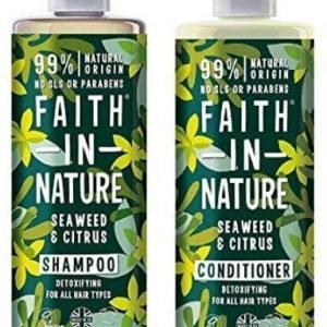 Faith in Nature Shampoo & Conditioner Seaweed & Citrus Twin Pack