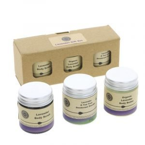 Heavenly Organics Lavender Gift Set