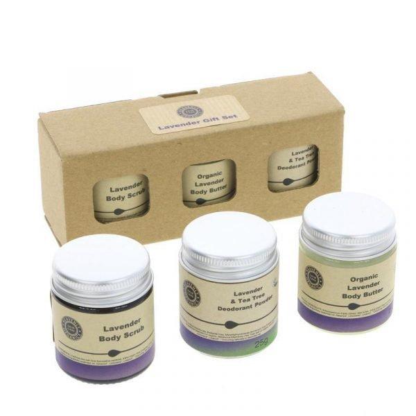 Heavenly Organics Lavender Gift Set