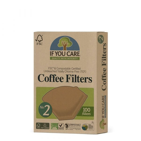 If You Care Coffee Filter No 2