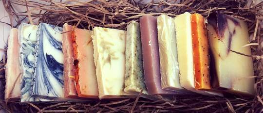 Mad About Nature 12 Soap Samples in gift box