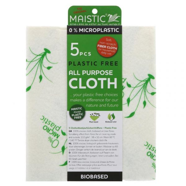 Maistic All Purpose Cloths - 5 peices