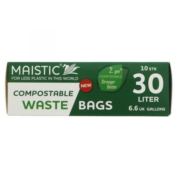Maistic Bin Liner 30l - Compostable - 20 x 10 bags