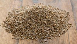 Organic Chopped and Kibbled Rye per 100g